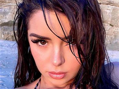 Demi Rose Plays Dangerous Games In Chains With Cheeks Out