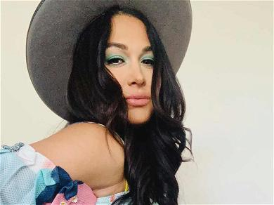 Brie Bella Shows Off Beautiful Baby Bump 6 Days Away From Due Date