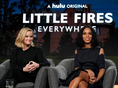 New Hulu Series Stars Reese Witherspoon & Kerry Washington, Janelle Monae Reacts