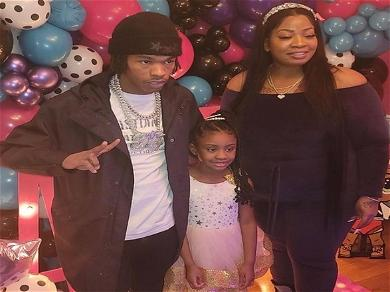 Lil Baby Gives George Floyd's Daughter Birthday Party