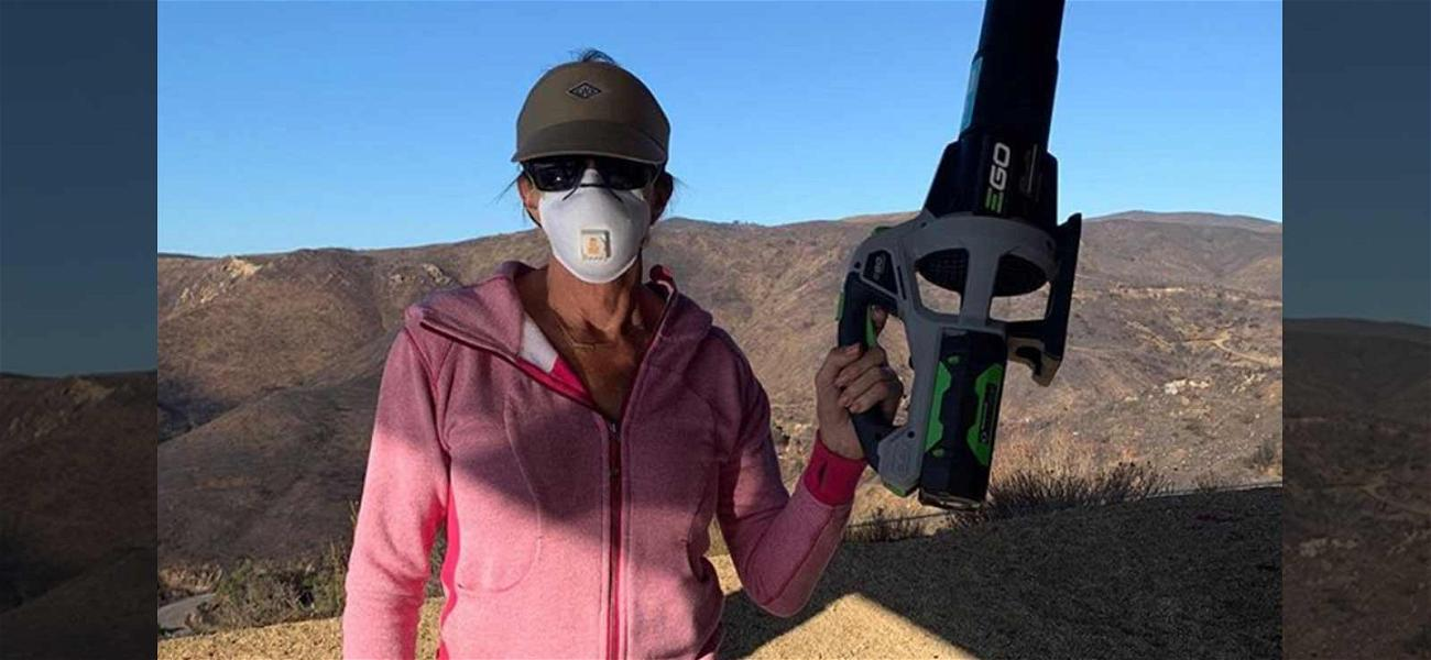 Caitlyn Jenner 'Thankful' She Has a House to Clean Up After Wildfires