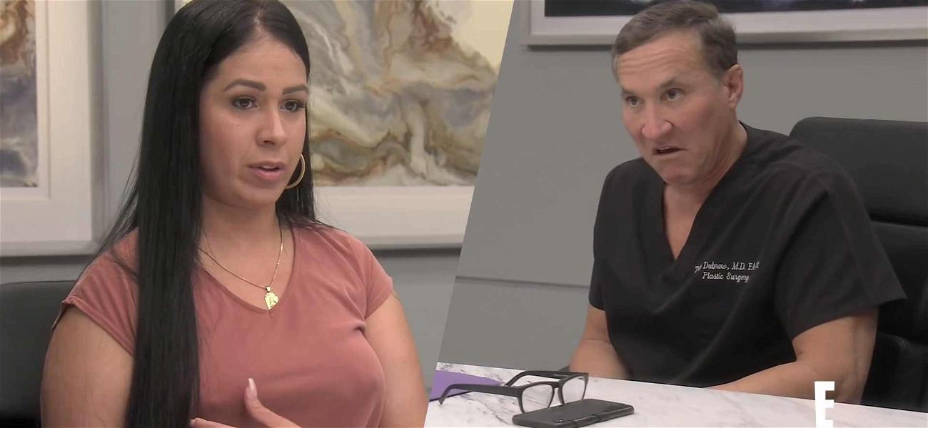 Dr. Terry Dubrow Saves 'Botched' Patient's 'Zombie Breast'