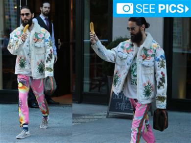 Jared Leto Is Very Proud of His Banana