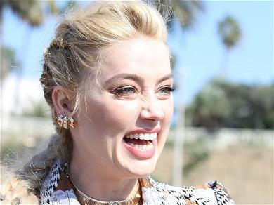 Amber Heard Flies Through Air Braless Amid Johnny Depp Victory