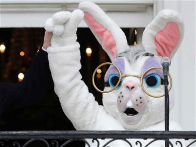 What The Heck Is Wrong With The White House Easter Bunny?!