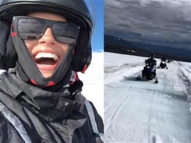 Ashley Graham Creates Golden Memories During Pee Break in Iceland