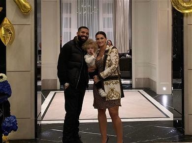 Drake And Sophie Brussaux Celebrate Son Adonis' On First Day Of School