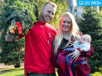Spencer Pratt, Heidi Montag Having Tree-Mendous 1st Xmas With Baby Gunner