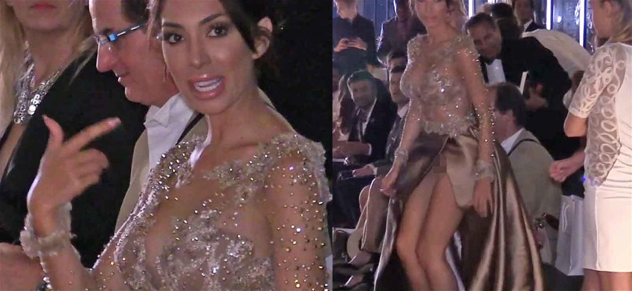 Amazing Video Reveals the TRUTH Behind Farrah Abraham's 'Wardrobe Malfunction' at Cannes