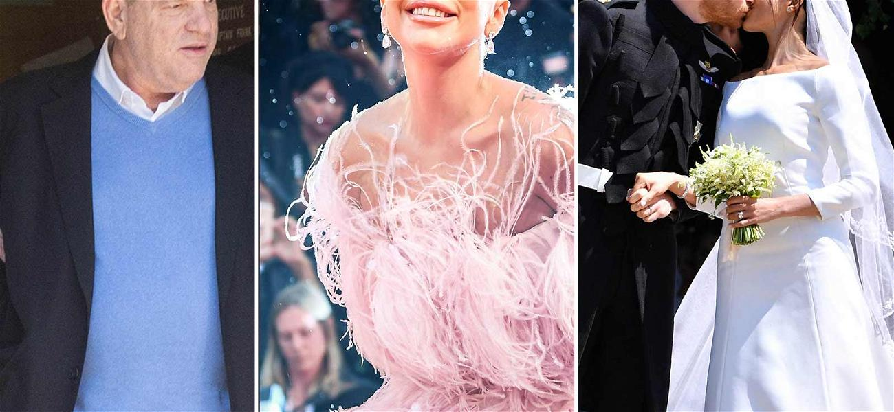 Meghan Markle, Lady Gaga & Harvey Weinstein Make Up 2018's Most Powerful Photos