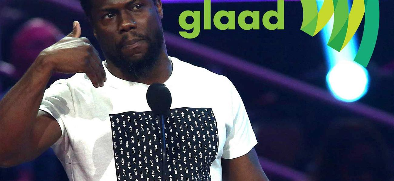 GLAAD Wants a Word With Oscars Host Kevin Hart Over Homophobic Tweets (UPDATE)