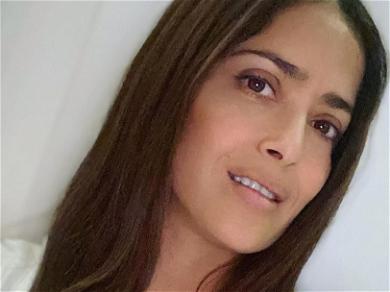 Salma Hayek's Feet Drives Fans Wild In Doggy Style Appreciation