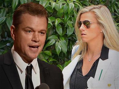 Matt Damon Dines With His BFF Ben Affleck's Ex-GF