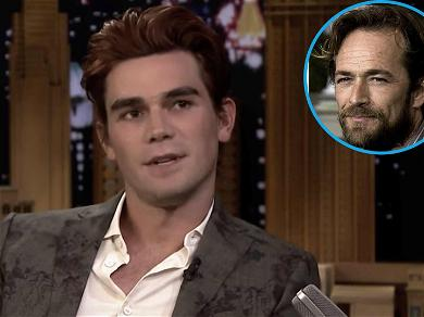 'Riverdale' Star KJ Apa Gets Emotional While Opening Up About Luke Perry's Death