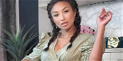 Jeannie Mai Strips Down Naked For Wine-Infused Bubble Bath