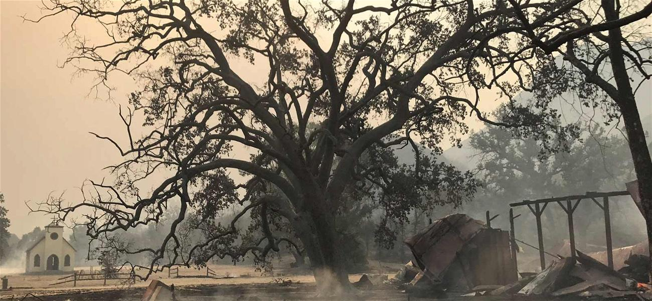 'Westworld' Set Burns to the Ground During California Wildfires