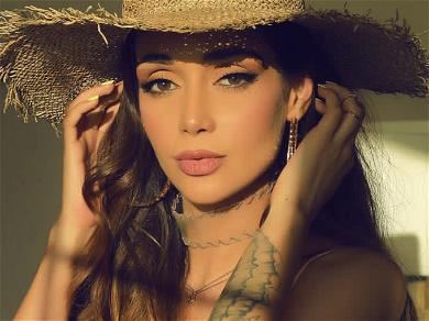 Iran's Top Supermodel, Elnaz Golrokh, MELTS Down Instagram In Fishnet Lingerie