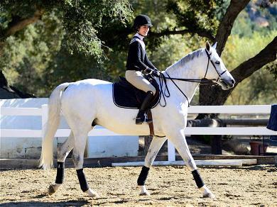 Selma Blair Riding Her Horse