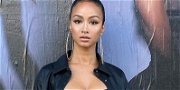 Draya Michele Shows Off Bust In Lacy Outfit