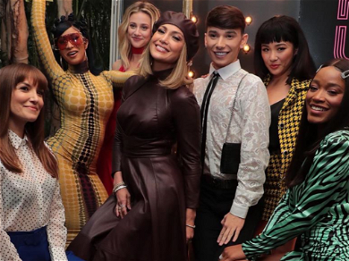 Social Media Star Landon Romano Hangs With Cardi B. and J. Lo Backstage At 'Hustlers' Event