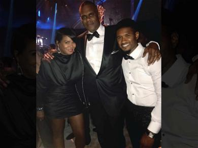 Usher & Ex-Wife Tameka Foster Bury the Hatchet at L.A. Charity Event