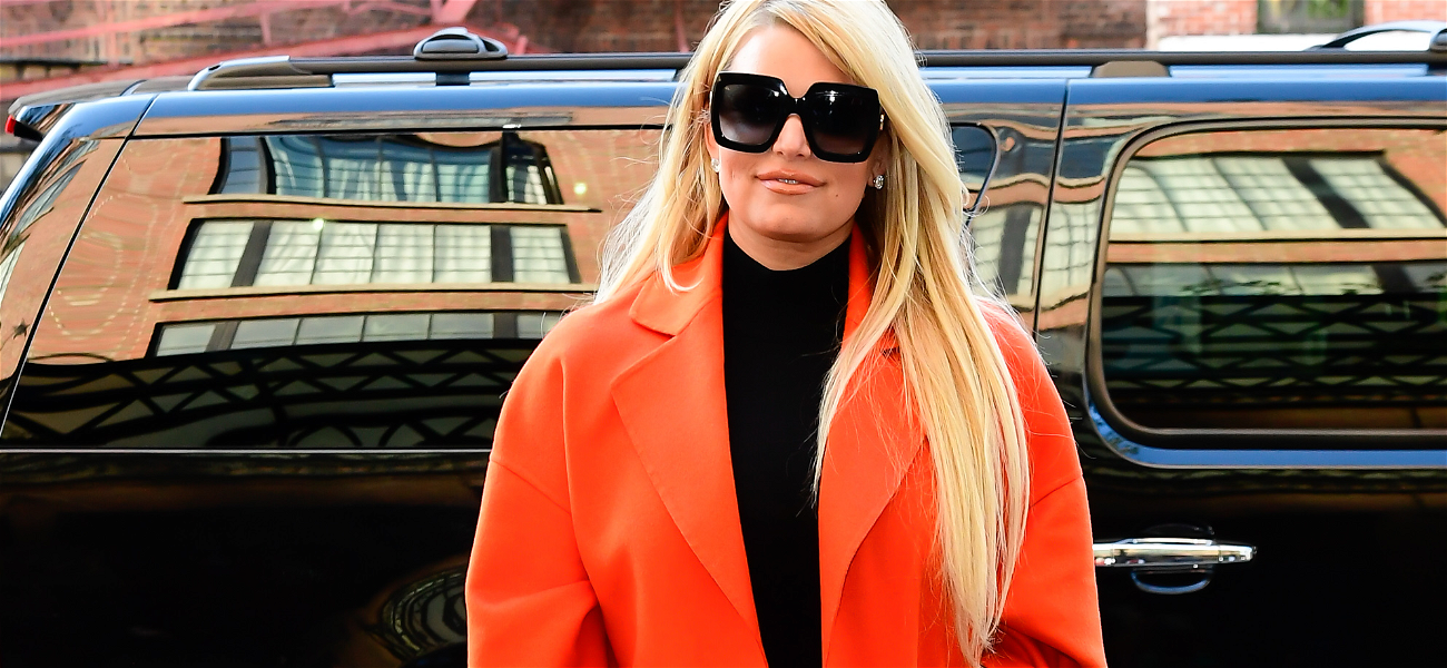 Jessica Simpson Back in The Big Apple With New Slender Core