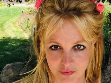 Britney Spears Hits L.A. Beach With Her Bicycle, 'Chickens Out' Over Touching Sands
