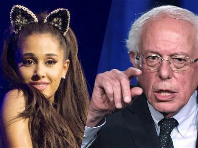 Ariana Grande Is Feeling The Bern After Bernie Sanders' Twitter Reply