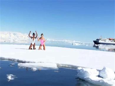 Jasmine Tookes and Josephine Skriver Are Hot AF While Cold AF