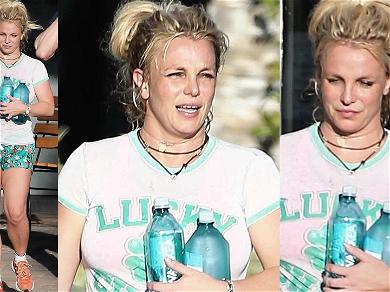 Britney Spears Cools Down After Hot Yoga Sesh