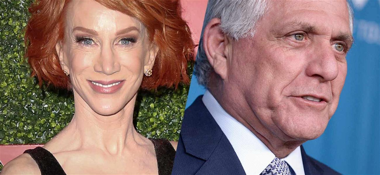 Kathy Griffin Asks to Be Moved After Being Seated Near Les Moonves: 'I Don't Like Sitting Next to Rapists'