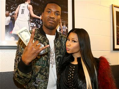 Rappers Meek Mill and Nicki Minaj Just Can't Seem To Get Over Each Other