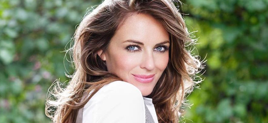 Elizabeth Hurley Stuns in Sexy Lingerie Shot During Home 'Lockdown'