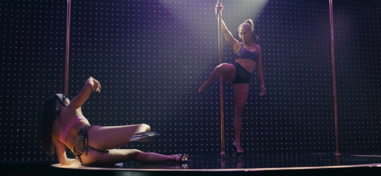 Jennifer Lopez Teaches Constance Wu How To Work The Stripper Pole in 'Hustlers' Clip