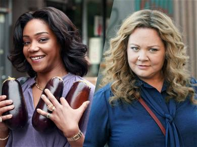 Tiffany Haddish and Melissa McCarthy Are Making Us Laugh on Set for 'The Kitchen'