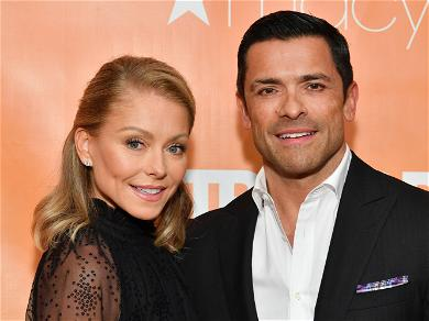 Kelly Ripa Cries On Air While Revealing She's Not Talking To 2 Of Her Kids During Quarantine
