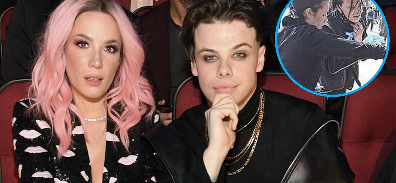 Halsey Treated Wounded Protesters With Her Ex Yungblud, See The Intense Pics!