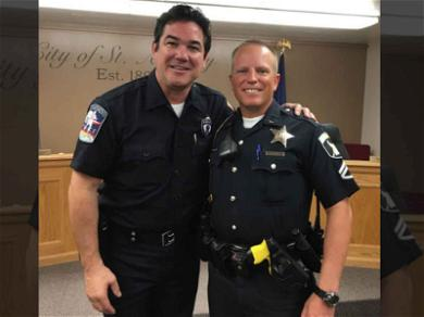Dean Cain Trades 'Superman' Cape for Police Badge