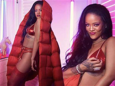 Rihanna Gets Red Hot in New SAVAGE X FENTY Valentine's Day Lingerie