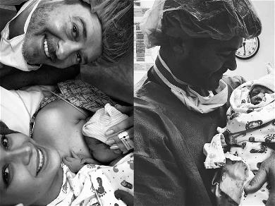 Robin Thicke & April Love Geary Announce Birth of Second Daughter