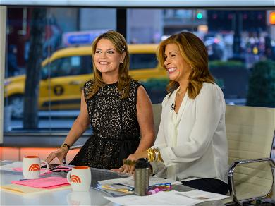 Savannah Guthrie and Hoda Kotb Caught Swooning Over This Actor During Commercial Break, And He Heard It All!
