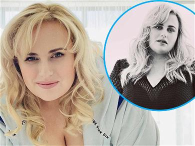Rebel Wilson Knocks 'Em Dead With Weight Loss In Tight Fishnet Dress