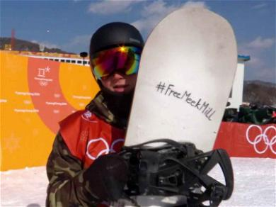 Olympic Snowboarder Wants to #FreeMeekMill