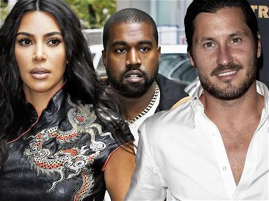 Kanye West & Kim Kardashian RIPPED By Val Chmerkovskiy After 'DWTS' Diss