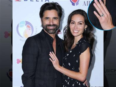 John Stamos and Fiancée Show Off Her Rock, Have Mercy!