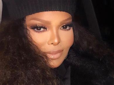 Janet JacksonWows Fans Wearing Semi-Sheer Dress In Throwback Pics