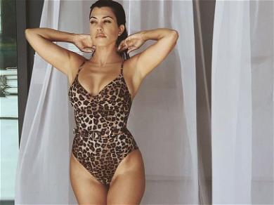 Kourtney Kardashian Reveals Her Toning Treadmill Workout