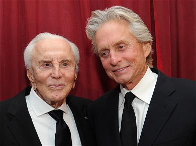 Michael Douglas Receives Nothing From Late Father's Fortune