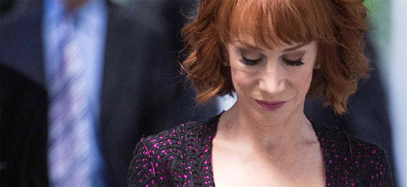 Kathy Griffin Files for Restraining Order Against KB Homes CEO