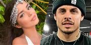 Demi Rose Gets Close With Jennifer Lopez's Ex Casper Smart, Bust Falls Out